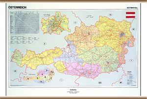 ausztria megye térkép KELET TANÉRT KFT ausztria megye térkép